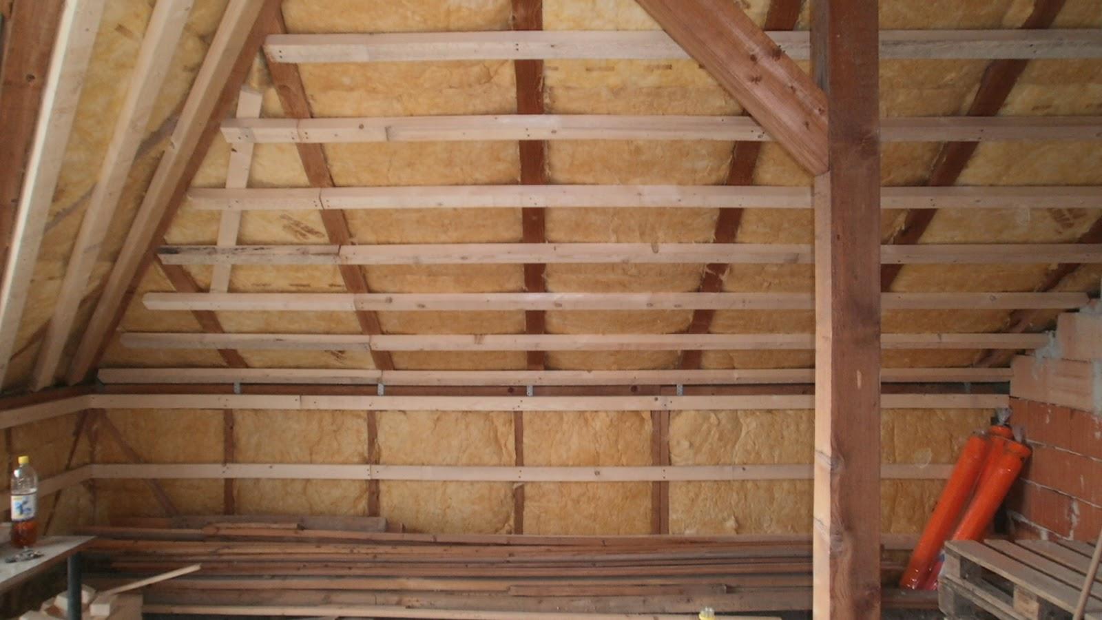 heimwerker: dachbodenausbau - unterkonstruktion mit holz und dampfbremse