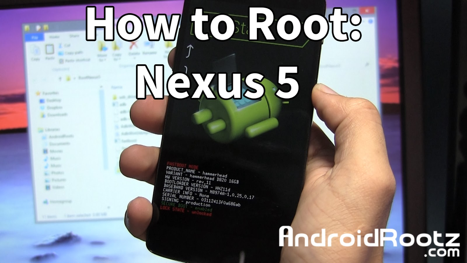 How to Root Nexus 5! - [Windows/Mac/Linux/Ubuntu