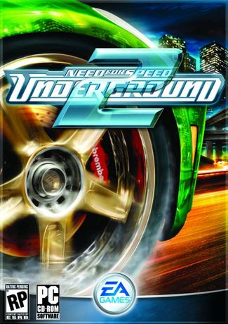 Need for Speed Underground 2 PC Game Cover