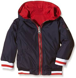DISCOUNT 3 Pommes Baby Boys Printed Jacket (Lining/Cotton) , start £23.55 free return