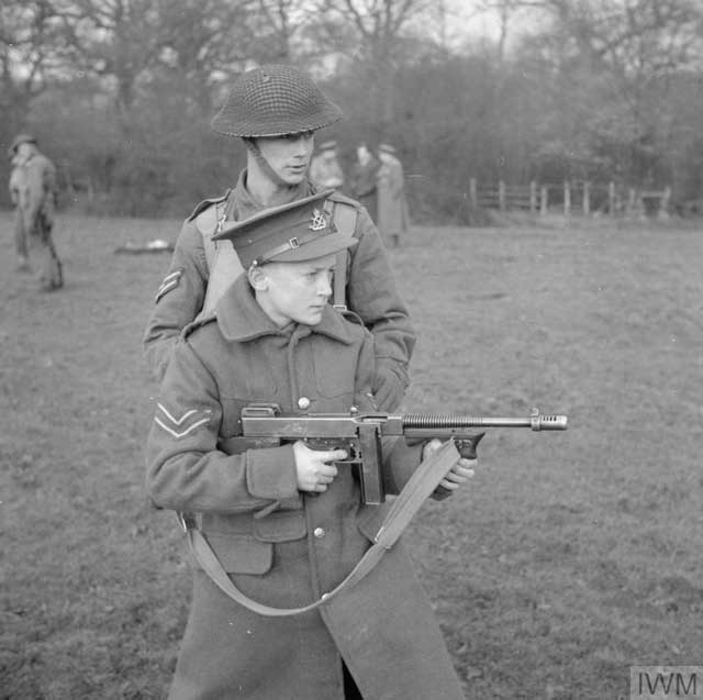 Tommy Gun in training, 8 January 1942 worldwartwo.filminspector.com