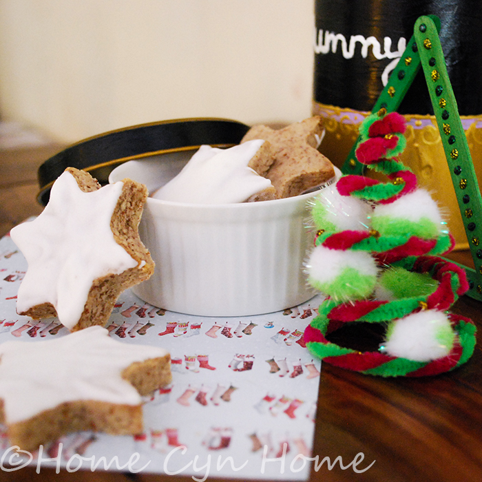 Cinnamon stars cookies are as tasty as they look. They are the star of Swiss Christmas cookies for a reason