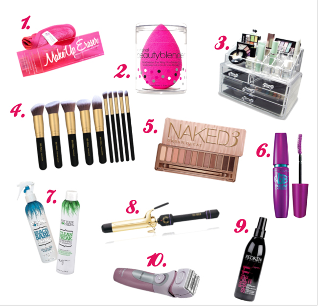 make up and hair care gifts for the teenage girl overstuffedlife