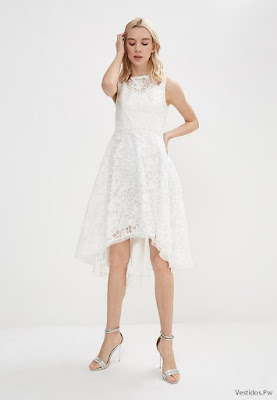 Vestidos Blancos de Noche