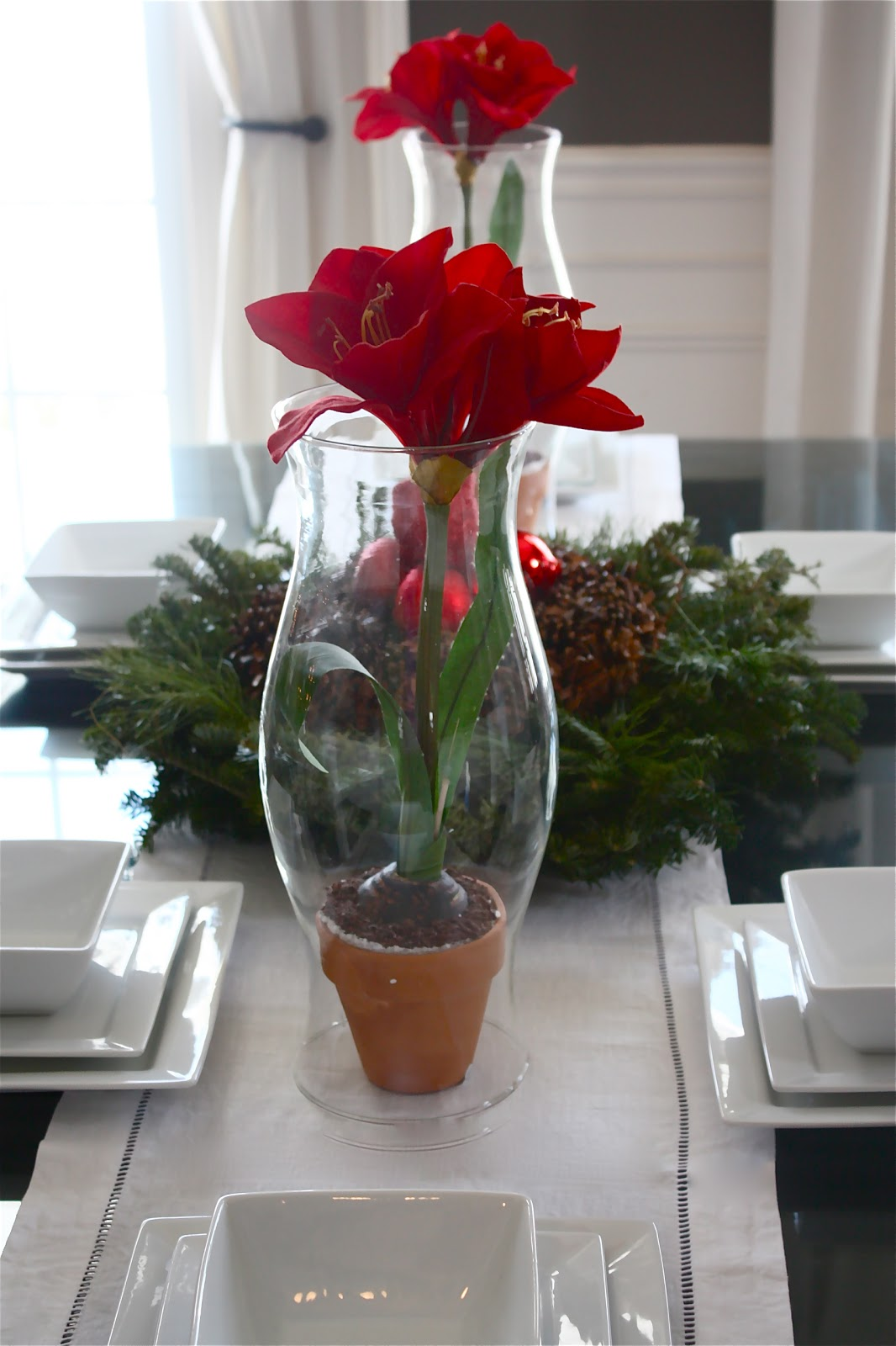 The Yellow Cape Cod Holiday Home Series Simple Thrift Store Centerpieces