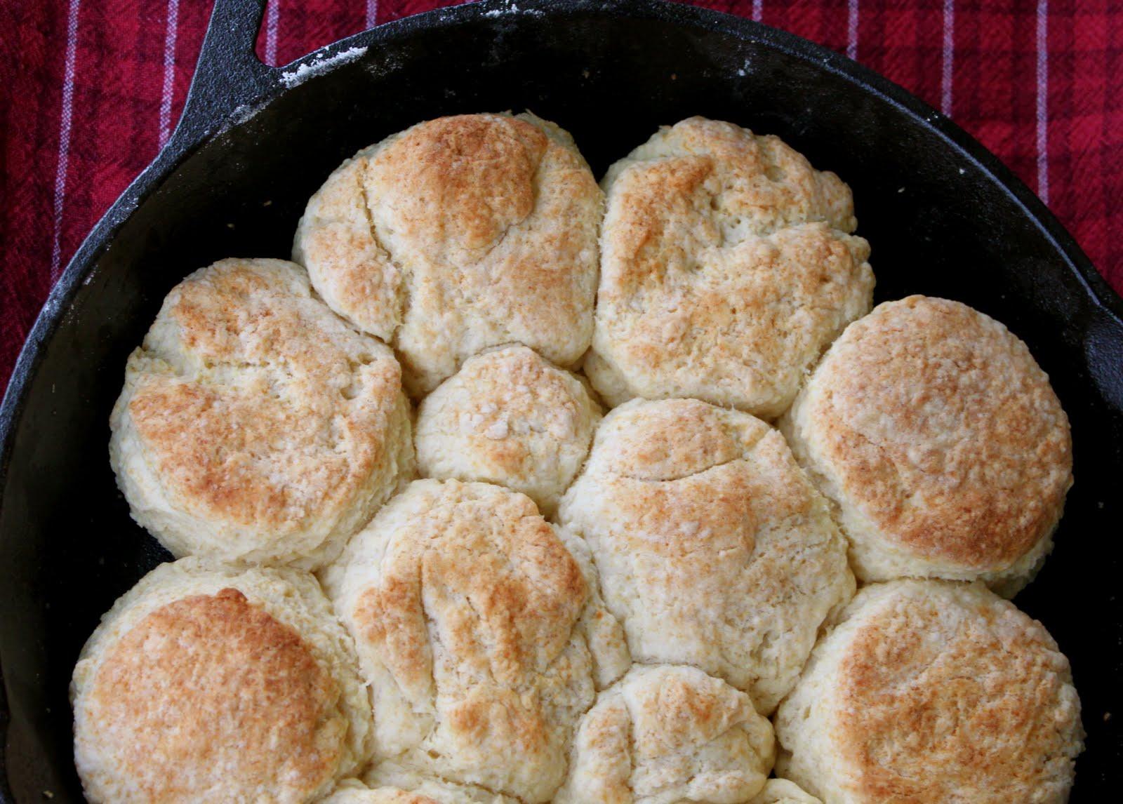 Skillet Biscuits A Bountiful Kitchen