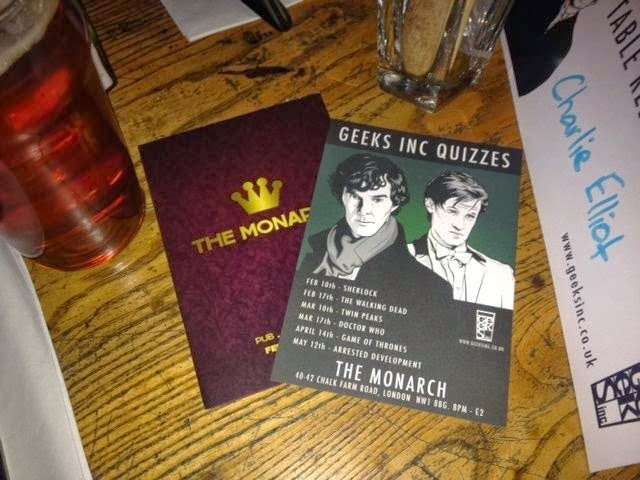 sherlock pub quiz london