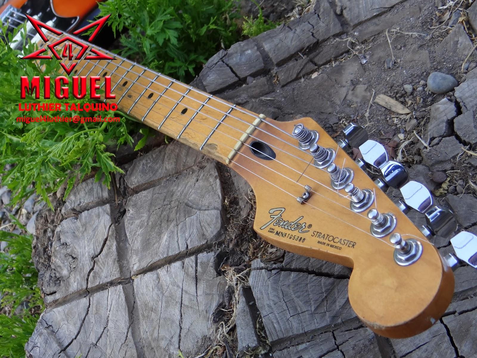 Luthier miguel4 talca guitarra el ctrica fender for Luthier guitarra electrica