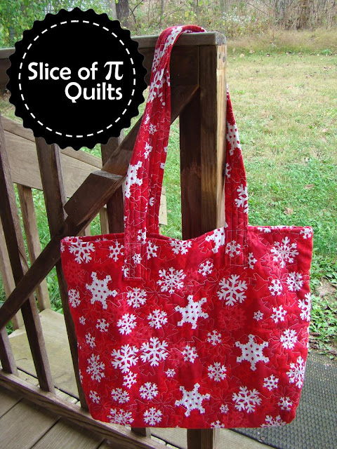 easy quilted tote