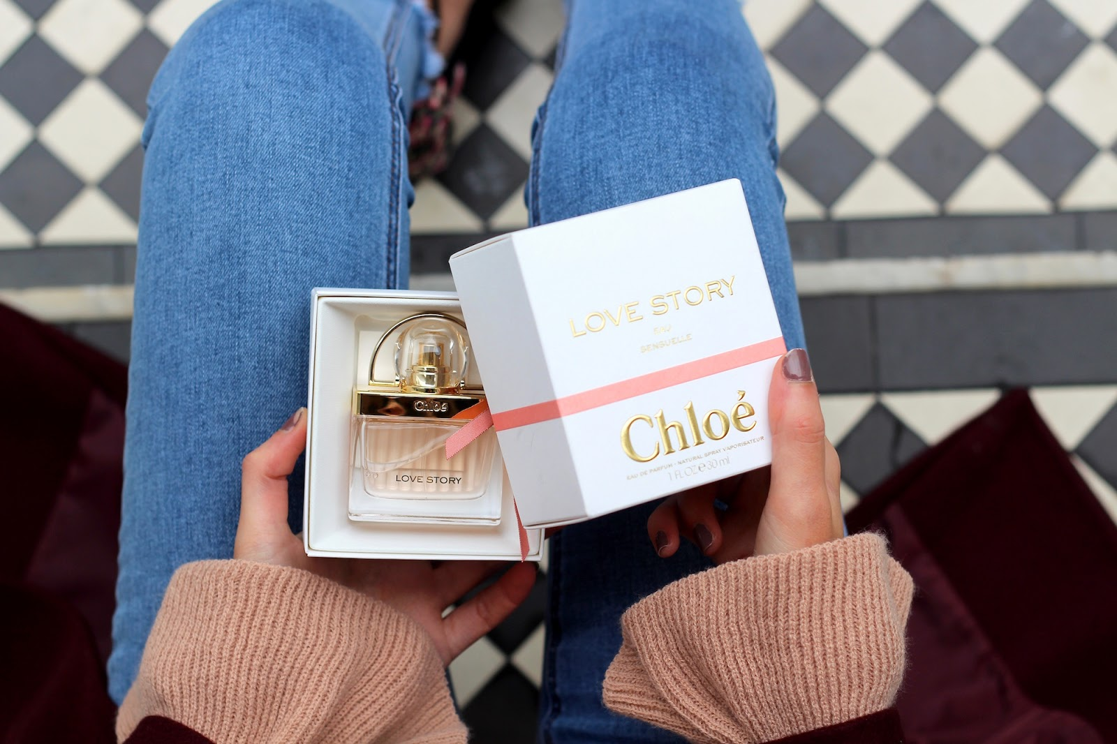 chloé love story valentine's day