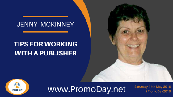 Jenny McKinney To Present Webinar at #PromoDay2016