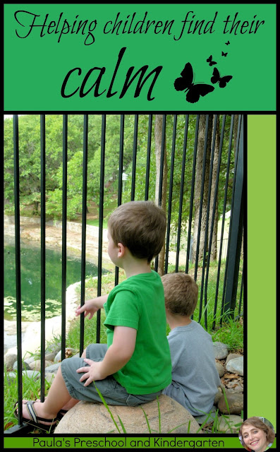 Helping children find their calm
