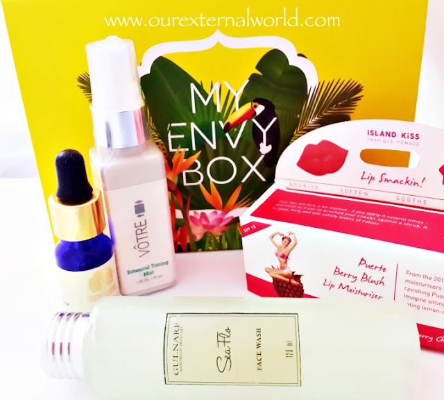 Unboxing: My Envy Box - May 2016 - Tropical Paradise, Indian Beauty Box