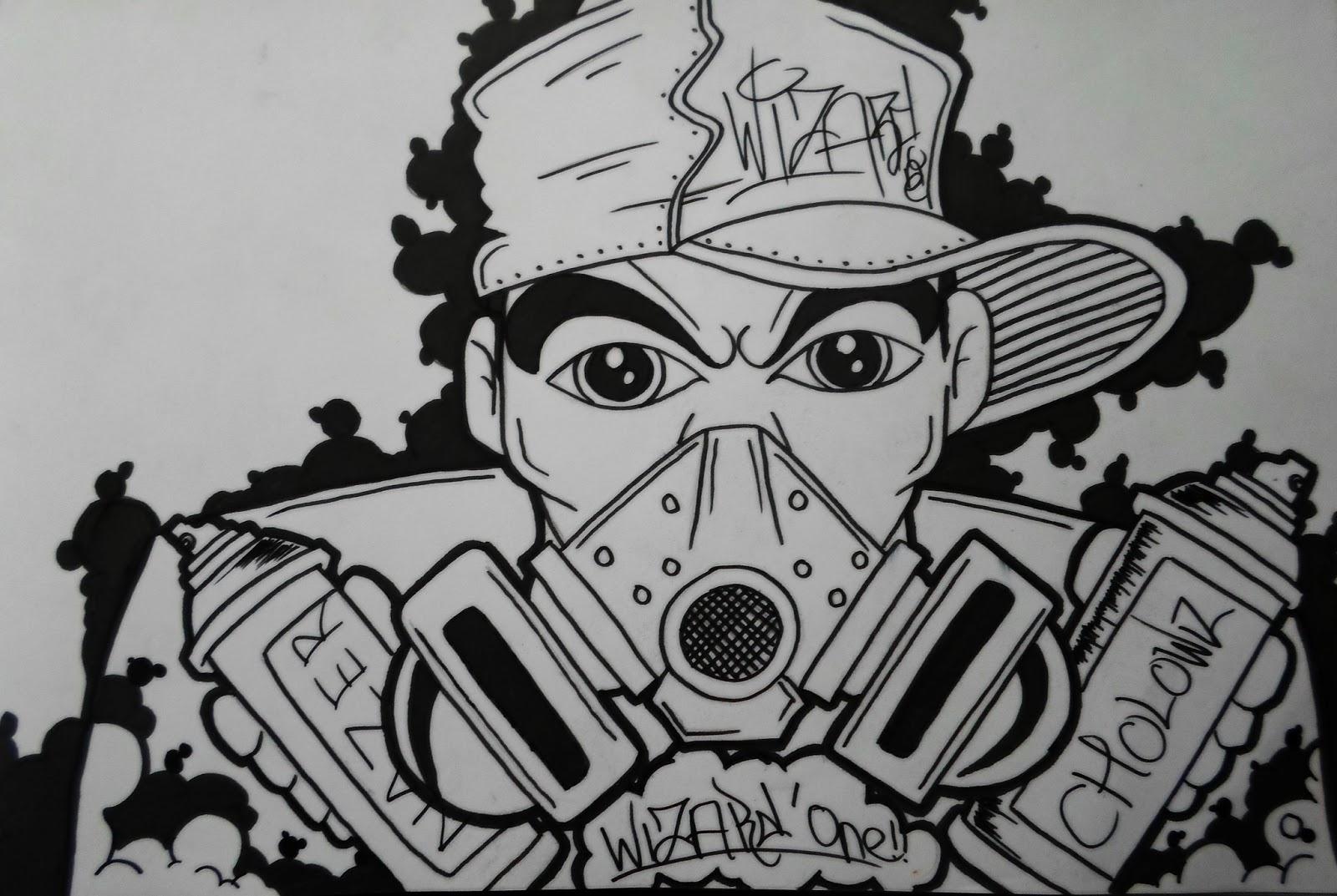 Gambar Grafiti Monster Inc  Sobgrafiti