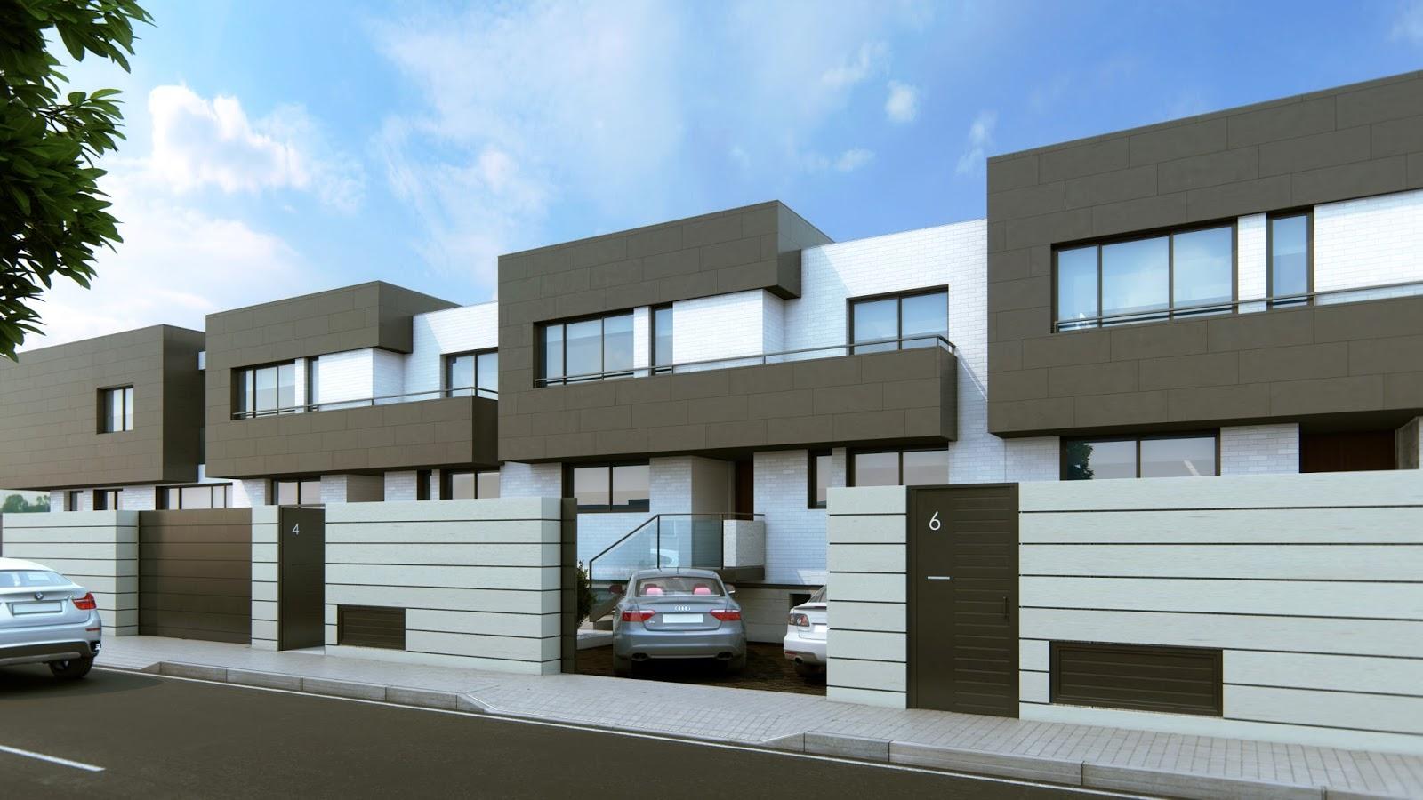 Vv arquitectos promoci n 8 viviendas unifamiliares - Arquitectos ciudad real ...