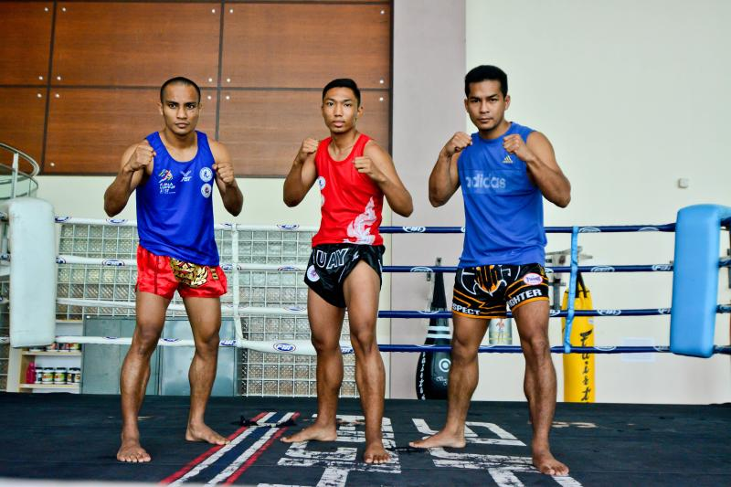 RUNNING WITH PASSION: Three Malaysia's Kickboxers Are All Ready for