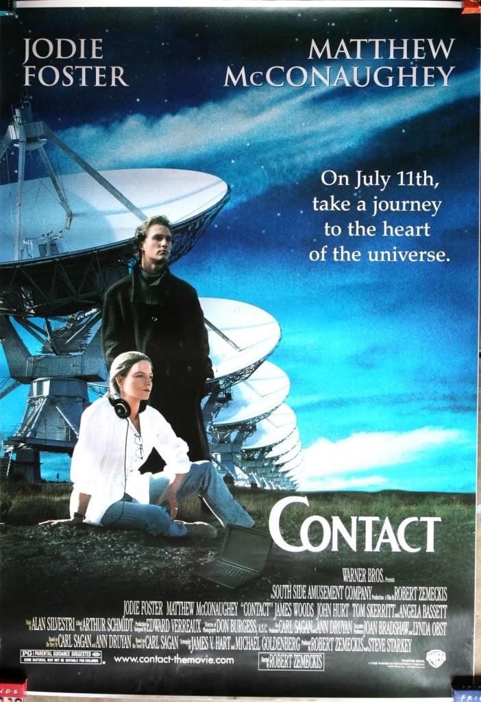 Contact (1997) อุบัติการณ์สัมผัสห้วงอวกาศ