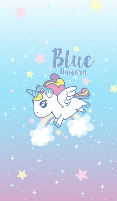 Unicorn Love Blue