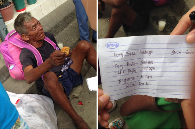 Old Man Crying Blood Seeks Help To Go Home To Baler, Aurora! Netizens Work Together To Help!