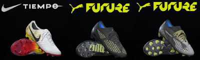 PES 2017 Nike Tiempo Corazon y Sangre + Puma Future 2018 by Tisera09