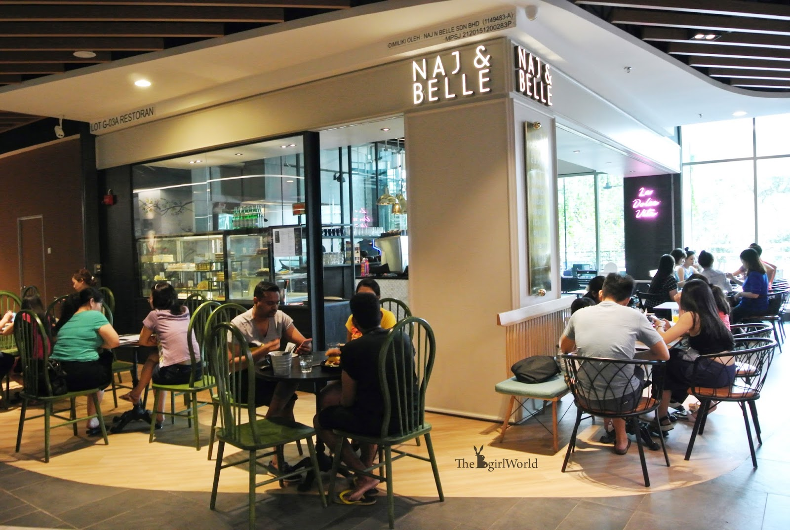 71c28229b2 Unexpected their desserts earned rave reviews from these restaurants and of  course you can t miss this as well at their own cafe Naj   Belle.