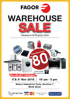 FAGOR Warehouse Sale 2016