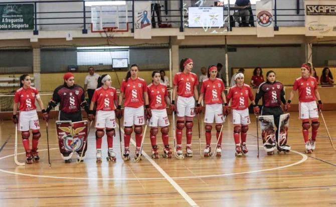 Blog Benfica Campeão Nacional de Hóquei em Patins Feminino 2018/19