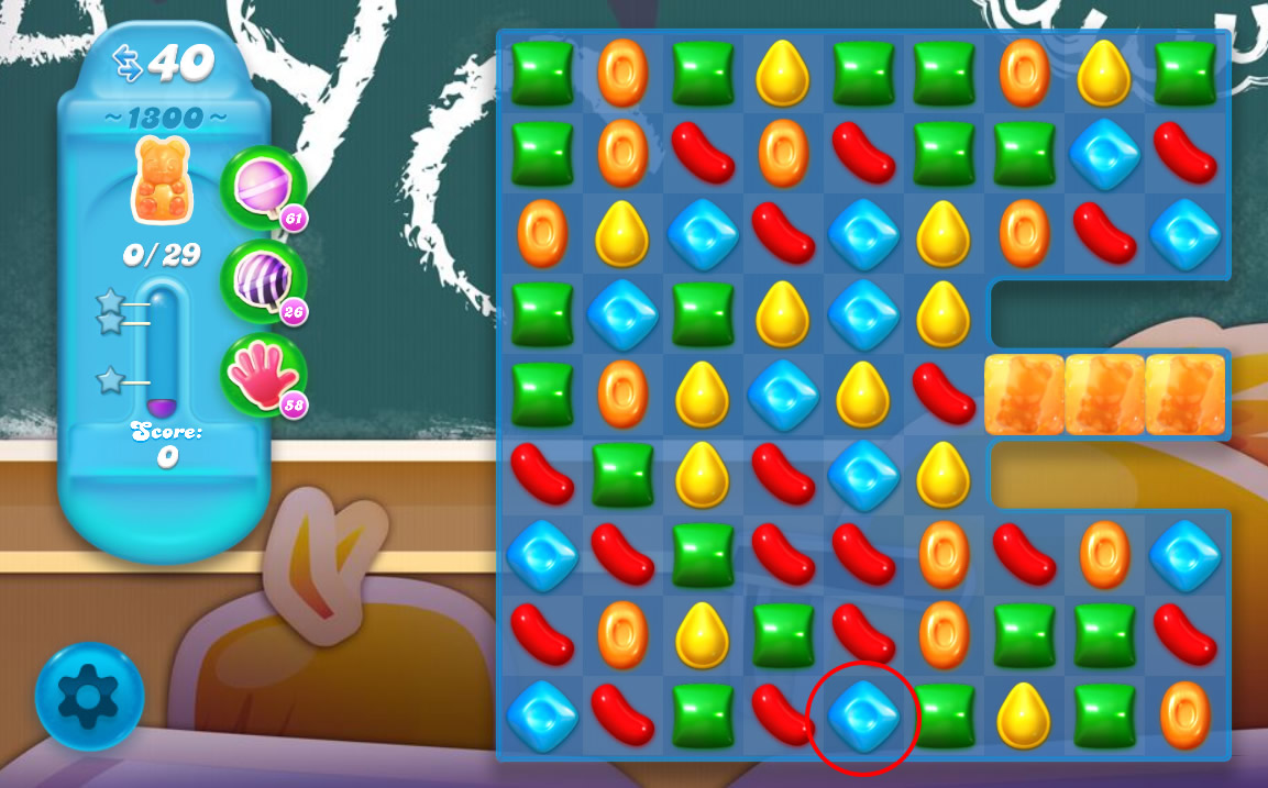 Candy Crush Soda Saga level 1300