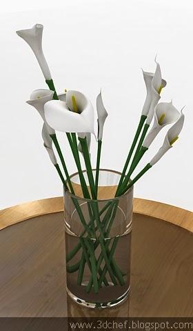 lily flower 3d model free
