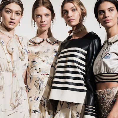 Tommy hilfiger, Hilfiger Collection, Fall 2016, MBFW New York, Suits and Shirts, Gigi Hadid, Olivia Palermo, Johannes Huebl, NYFW, WOMAN , moda mujer, mujer,