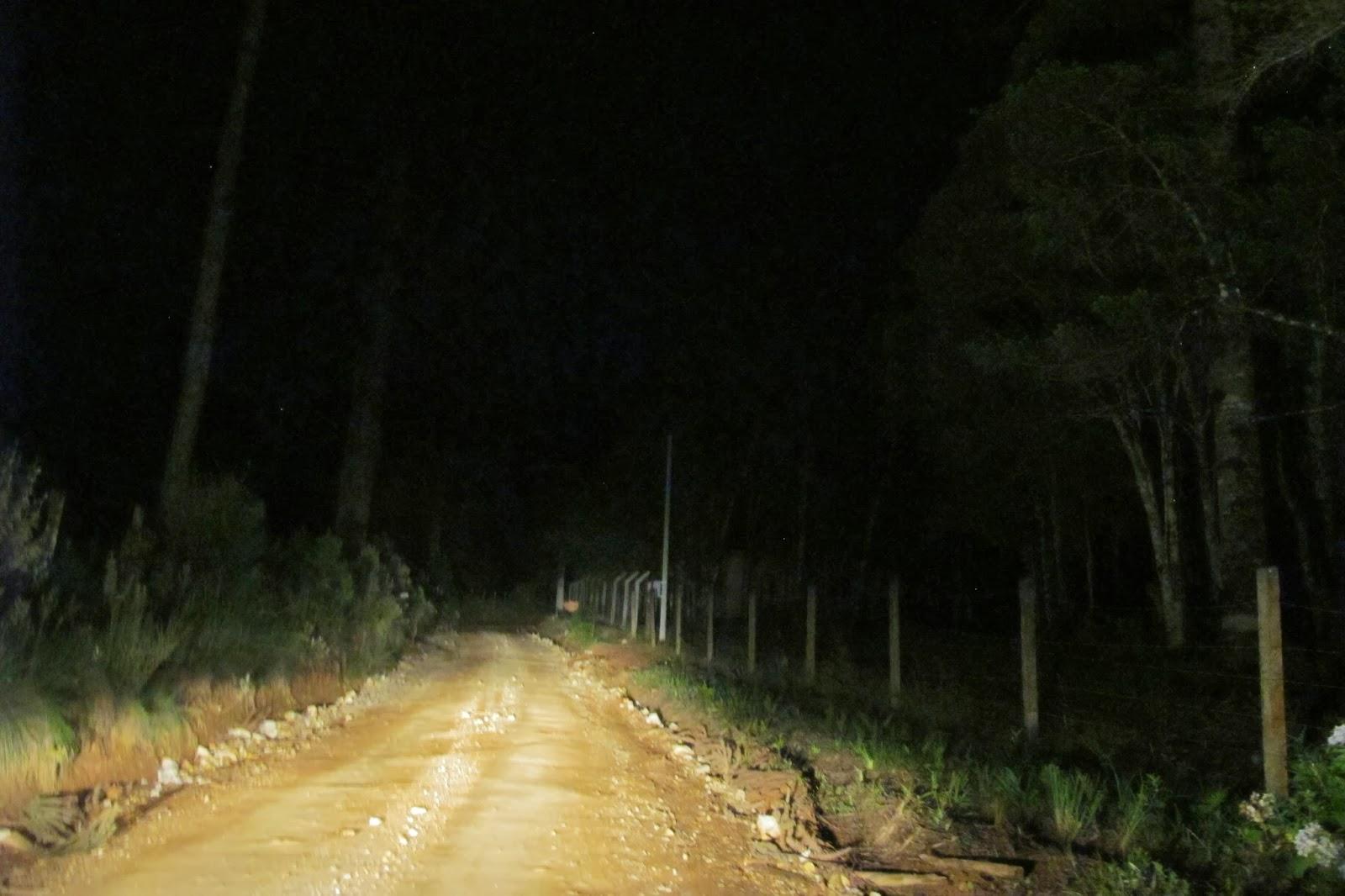 Na estrada rumo à Santa Catarina