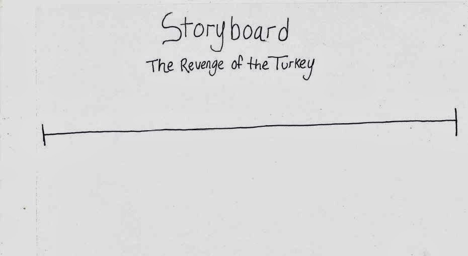Teenage Writer How to Storyboard in Four Easy Steps - vertical storyboard