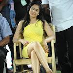Nikesha Patel Tollywood Actress @ CCL Match Finals Stills