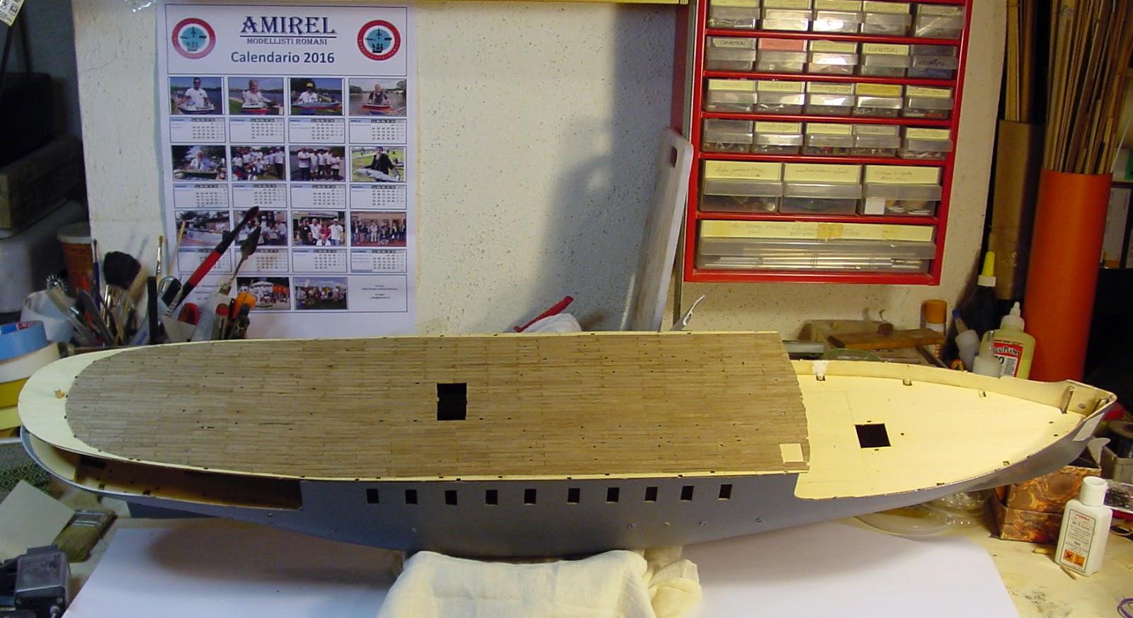 Modellismo navale rc model boats for Piani di cabina 32x32