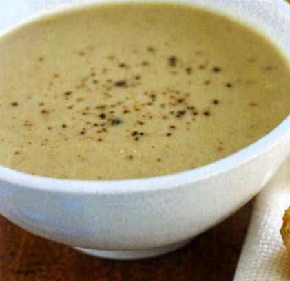 preparare reteta supa crema de conopida cu ceapa