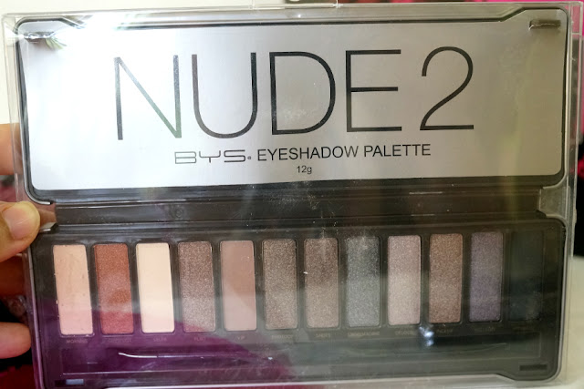 BYS Nude Eye Shadow Palette in Nude 2, 12g
