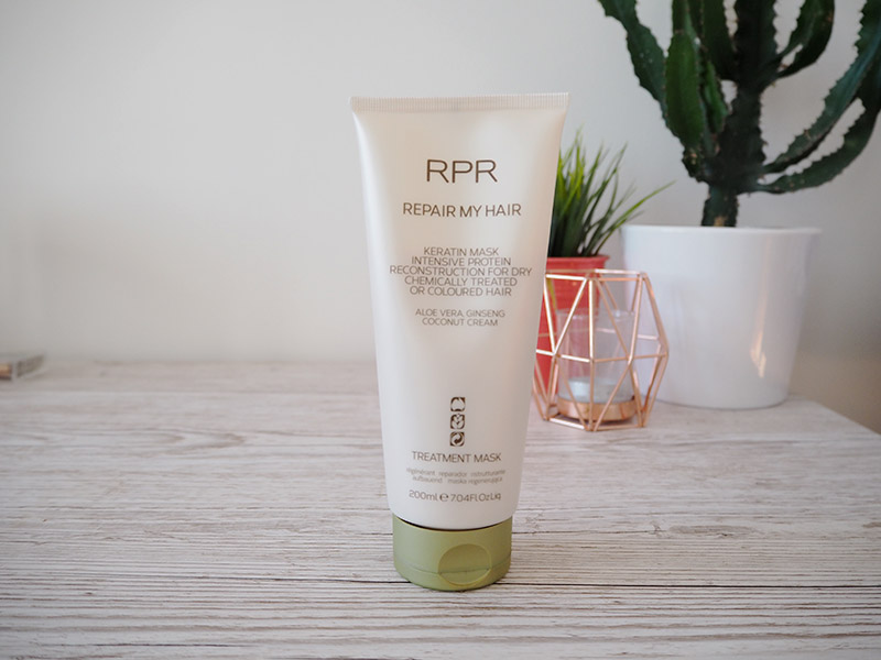 RPR repair my hair treatment mask for hair growth review