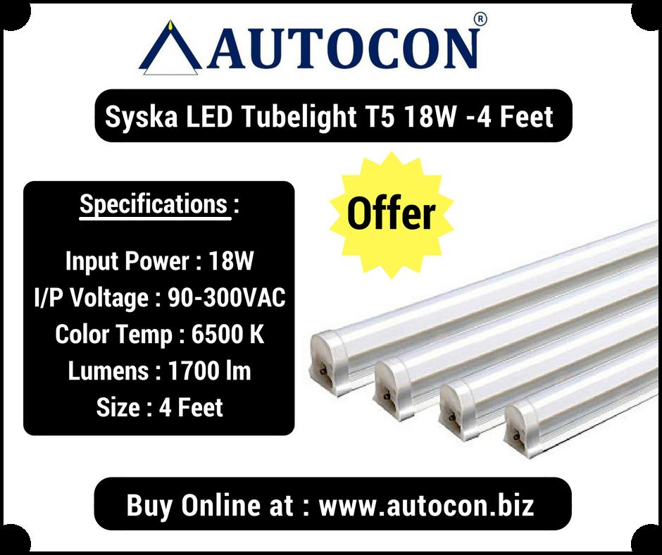 Syska led 18 watt tube light price aen art dual brush pens