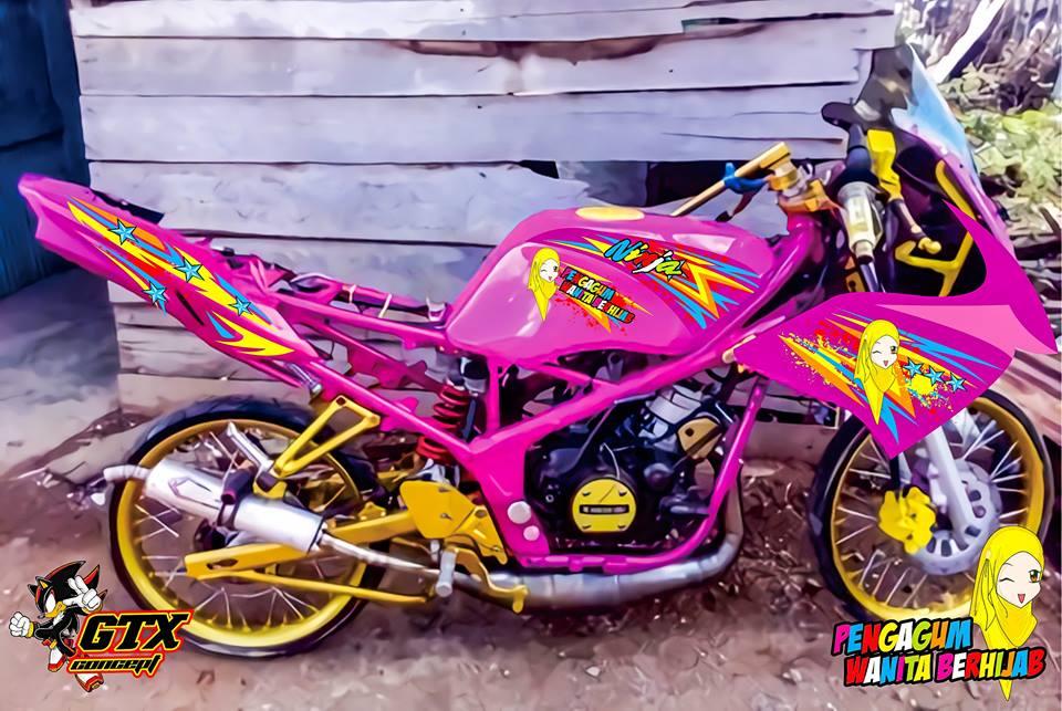 Ninja Rr Cat Pink Pengagum Wanita Berhijab Mantap Gan Bikin Ngiler