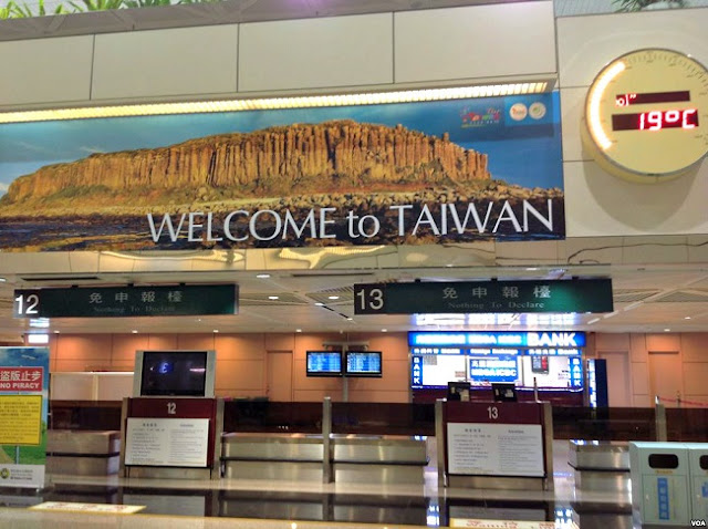 Thủ tục hải quan và cách điền tờ khai nhập cảnh Đài Loan