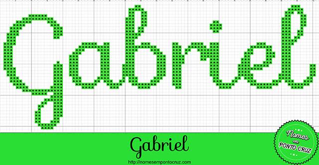 Nome Gabriel em Ponto Cruz