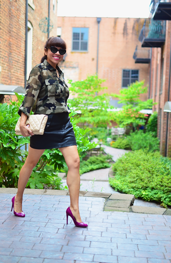 How to wear camouflage print