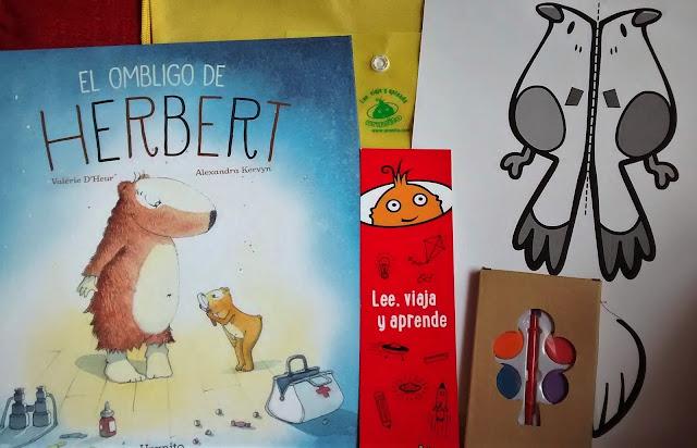 El Ombligo de Herbert libro para niños uranito