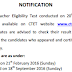 CTET Result 2015 (September) and Cut Off Marks | cbseresults.nic.in