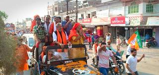 sushil-modi-road-show-begusaray