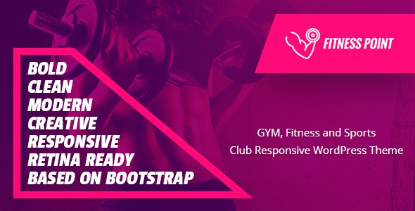 Free Gym, Fitness and Sports Clubs WooCommerce WordPress Theme