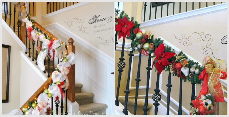 I Always Wanted To Have Garland On The Banister For Holidays But As You All Know Our Stairwell Is Pretty Huge And It Would Of Cost Me A Penny