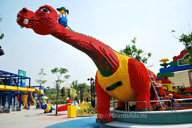 Lego Dinosaur Legoland Malaysia