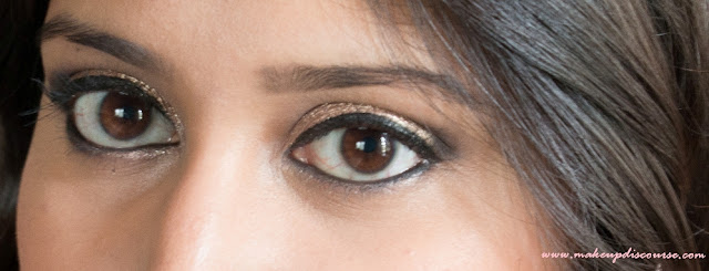 Easy Copper Smokey Eye makeup