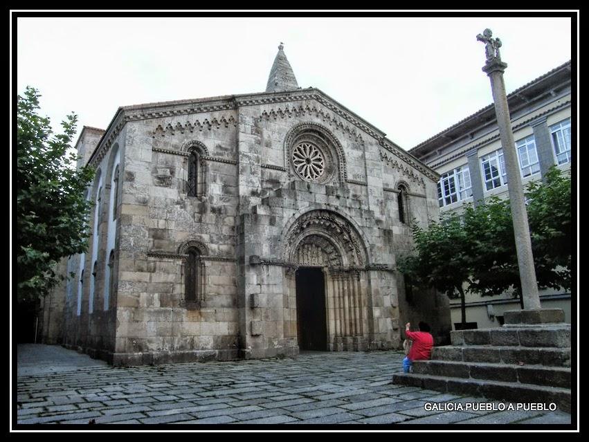 Galicia Pueblo A Pueblo Colegiata De Santa María Del Campo A Coruña